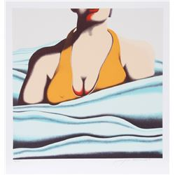 Jack Brusca, The Beach, Serigraph