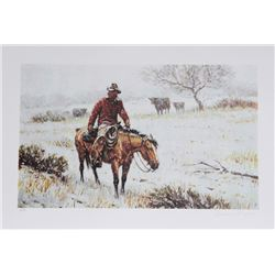 Duane Bryers, Winter Coats, Lithograph