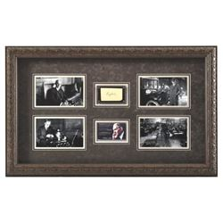 Henry Ford Autograph & Photo Presentation Framed