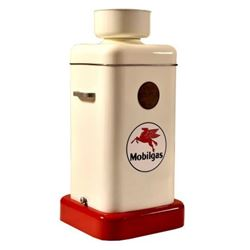 Mobilgas Mobil Service Station Waste Oil Container