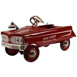 Smithville Fire Chief Pedal Car