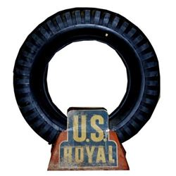 U.S. Royal Tire Advertising Display