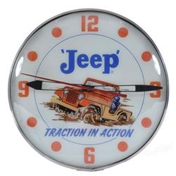 Jeep Dealership Advertising Clock
