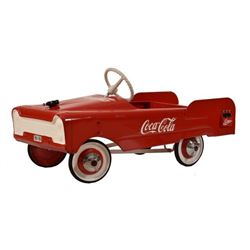 Coca-Cola Advertising Pedal Car