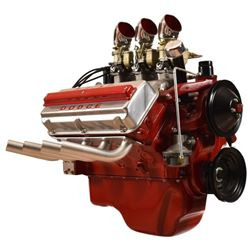 1953 Dodge Red Ram Engine on stand