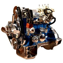 1972 Pinto Cut-away Engine on stand