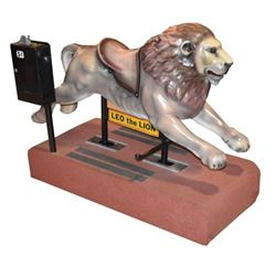 """""""Leo the Lion"""" Coin-Op Ride"""