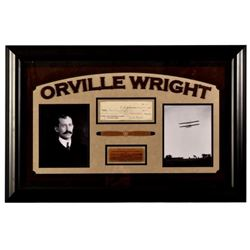 Orville Wright Autographed Check & Photos