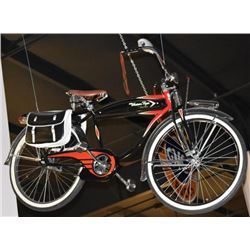 Western Flyer Bicycle With Saddle Bags
