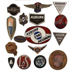 Collection of Automotive Hood Ornament Badges