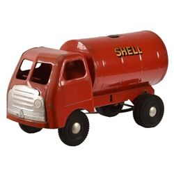 Tri-ang Shell Oil Transport Toy Truck