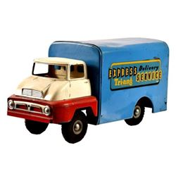 Tri-ang Express Delivery Pressed Steel Toy Truck