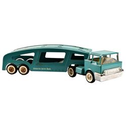 Structo Toys Auto Hauler Pressed Steel Toy Truck