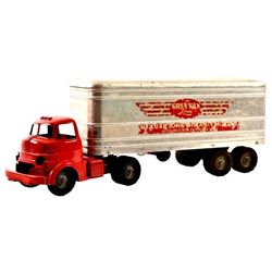 Wyandotte Toys Moving Truck and Trailer