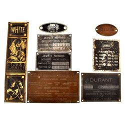 Collection of VIN and Chassis Plates