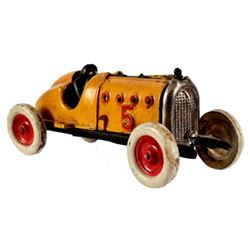 Cast Iron Race Car Toy Speedster