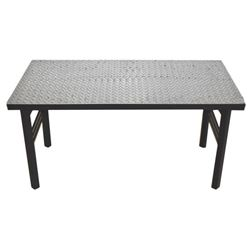 Diamond Plated Table