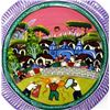 Image 3 : 2 Hand Painted Mexican Pottery Plates