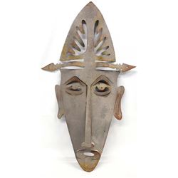 African Style Metal Art Mask