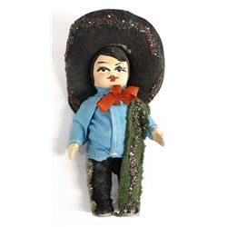 Small Mexican Composition Boy Doll