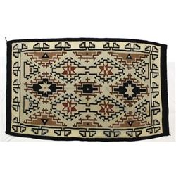 Large Mexican Wool Textile Rug