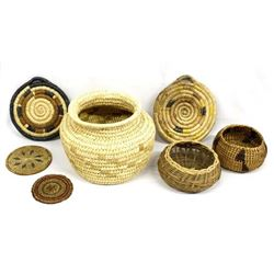 7 Native American Baskets