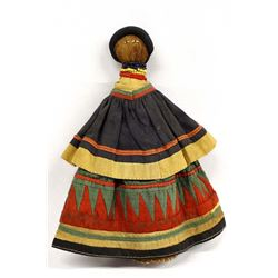 Seminole Cloth & Fiber Doll