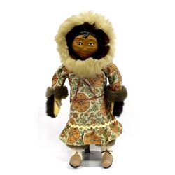 Vintage Native American Eskimo Doll