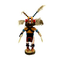 Hopi ''Wasp'' Kachina by Phillip Jackson