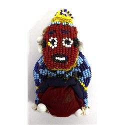 African Beaded Doll