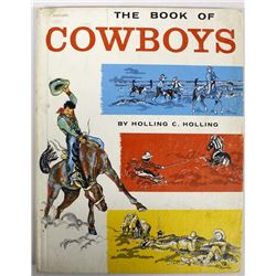 The Book of Cowboys by Holling C. Holling, c. 1962
