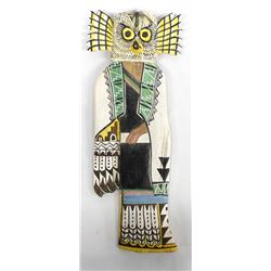 Hopi Mongwa Wuhti Great Horned Owl Kachina