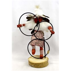 Native American Navajo Hoop Dancer Kachina