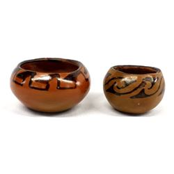 2 Native American Maricopa Pottery Bowls