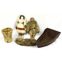 4 Native American Northwest Coast Collectibles