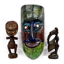 African Carved Wood Collectibles