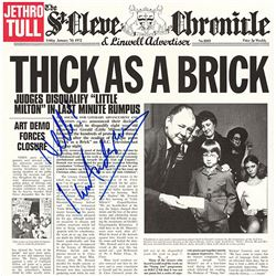 Ian Anderson Of Jethro Tull Band Signed Thick As A Brick Album