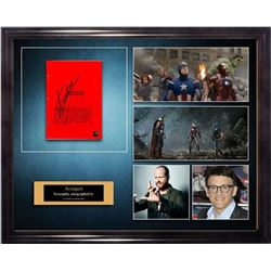 Avengers - Signed Movie Script in Photo Collage Frame