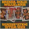 Image 1 : Willie Nelson Kris Kristofferson Dolly Parton Brenda Lee Signed …The Winning Hand Album
