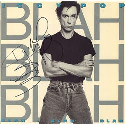 "Iggy Pop ""Blah Blah Blah"""