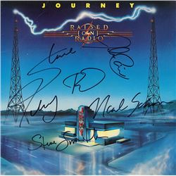 Journey Band Signed Raised On Radio Album