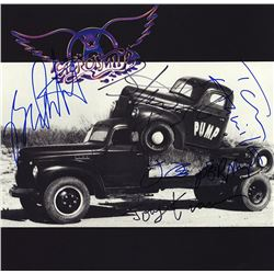 Aerosmith Band Signed Pump Album