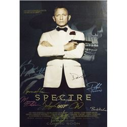 James Bond Spectre – Signed Poster