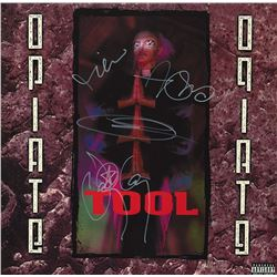 Tool Band Signed Opiate Album