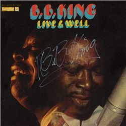 "B.B. King Signed ""Live & Well"" Album"
