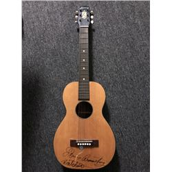 Louis Armstrong Signed Junior Acoustic Guitar