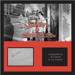 Abbott & Costello Signature Cut