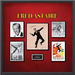 Fred Astaire Signed Photo Collage