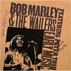 Marley & Tosh Signed Early Music Featuring Peter Tosh Album