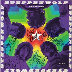 Steppenwolf Band Signed The Second (Foil Cover) Album